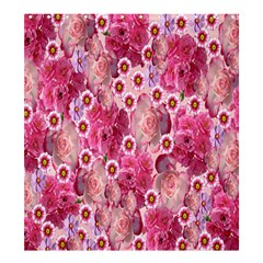 Roses Flowers Rose Blooms Nature Shower Curtain 66  x 72  (Large)