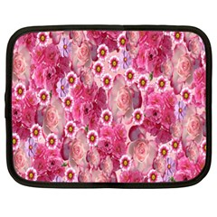 Roses Flowers Rose Blooms Nature Netbook Case (xl)