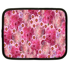 Roses Flowers Rose Blooms Nature Netbook Case (XXL)
