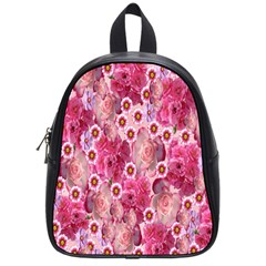 Roses Flowers Rose Blooms Nature School Bags (Small)