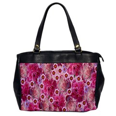 Roses Flowers Rose Blooms Nature Office Handbags