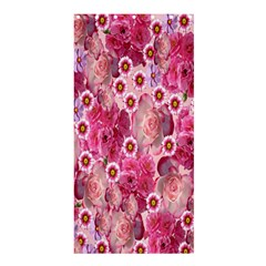 Roses Flowers Rose Blooms Nature Shower Curtain 36  x 72  (Stall)