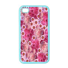 Roses Flowers Rose Blooms Nature Apple iPhone 4 Case (Color)