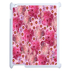 Roses Flowers Rose Blooms Nature Apple Ipad 2 Case (white)