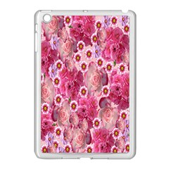 Roses Flowers Rose Blooms Nature Apple Ipad Mini Case (white)