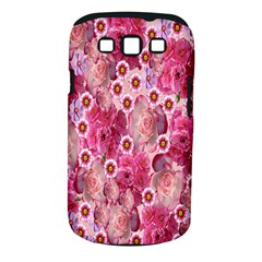 Roses Flowers Rose Blooms Nature Samsung Galaxy S III Classic Hardshell Case (PC+Silicone)