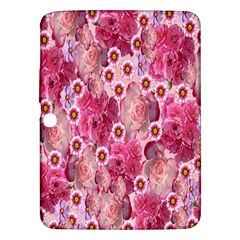 Roses Flowers Rose Blooms Nature Samsung Galaxy Tab 3 (10.1 ) P5200 Hardshell Case
