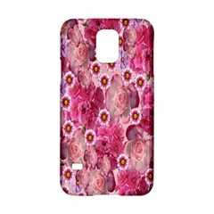 Roses Flowers Rose Blooms Nature Samsung Galaxy S5 Hardshell Case