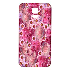 Roses Flowers Rose Blooms Nature Samsung Galaxy S5 Back Case (white)