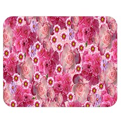 Roses Flowers Rose Blooms Nature Double Sided Flano Blanket (Medium)