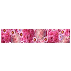 Roses Flowers Rose Blooms Nature Flano Scarf (small)