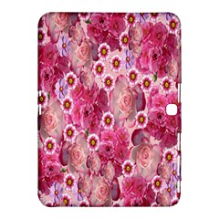 Roses Flowers Rose Blooms Nature Samsung Galaxy Tab 4 (10 1 ) Hardshell Case