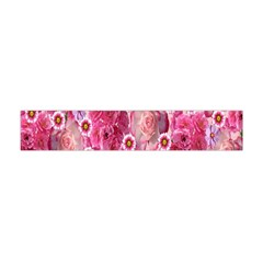 Roses Flowers Rose Blooms Nature Flano Scarf (Mini)