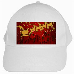 Santa Christmas Claus Winter White Cap