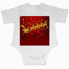 Santa Christmas Claus Winter Infant Creepers