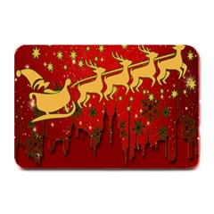 Santa Christmas Claus Winter Plate Mats
