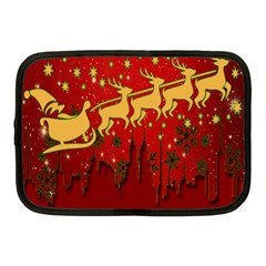 Santa Christmas Claus Winter Netbook Case (medium)
