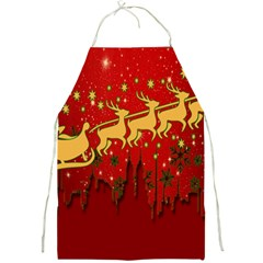 Santa Christmas Claus Winter Full Print Aprons