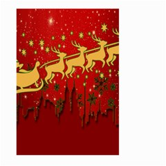 Santa Christmas Claus Winter Large Garden Flag (two Sides)
