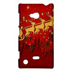 Santa Christmas Claus Winter Nokia Lumia 720