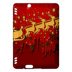 Santa Christmas Claus Winter Kindle Fire Hdx Hardshell Case