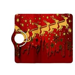 Santa Christmas Claus Winter Kindle Fire Hdx 8 9  Flip 360 Case