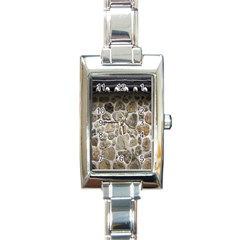 Roof Tile Damme Wall Stone Rectangle Italian Charm Watch