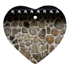 Roof Tile Damme Wall Stone Ornament (heart)