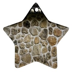 Roof Tile Damme Wall Stone Ornament (Star)