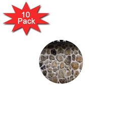 Roof Tile Damme Wall Stone 1  Mini Magnet (10 Pack)