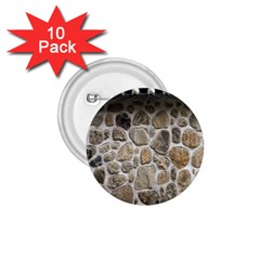 Roof Tile Damme Wall Stone 1 75  Buttons (10 Pack)