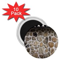 Roof Tile Damme Wall Stone 1.75  Magnets (10 pack)