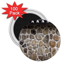 Roof Tile Damme Wall Stone 2 25  Magnets (100 Pack)