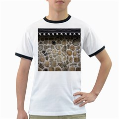 Roof Tile Damme Wall Stone Ringer T-Shirts
