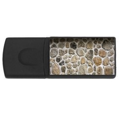 Roof Tile Damme Wall Stone USB Flash Drive Rectangular (4 GB)