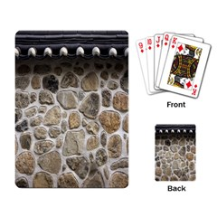Roof Tile Damme Wall Stone Playing Card