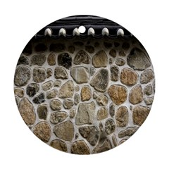 Roof Tile Damme Wall Stone Round Ornament (two Sides)