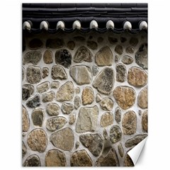 Roof Tile Damme Wall Stone Canvas 12  x 16