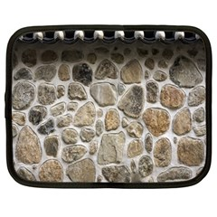 Roof Tile Damme Wall Stone Netbook Case (Large)