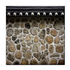 Roof Tile Damme Wall Stone Face Towel