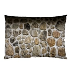 Roof Tile Damme Wall Stone Pillow Case