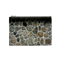 Roof Tile Damme Wall Stone Cosmetic Bag (Medium)