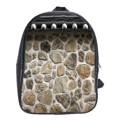 Roof Tile Damme Wall Stone School Bags(large)
