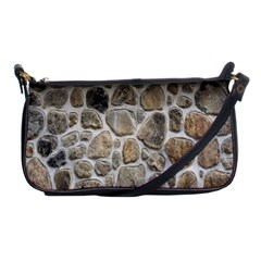 Roof Tile Damme Wall Stone Shoulder Clutch Bags