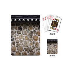 Roof Tile Damme Wall Stone Playing Cards (Mini)