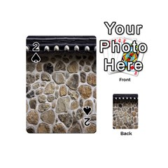 Roof Tile Damme Wall Stone Playing Cards 54 (Mini)