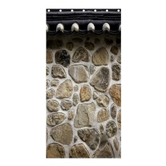 Roof Tile Damme Wall Stone Shower Curtain 36  x 72  (Stall)