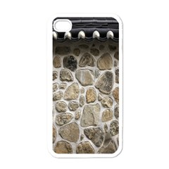 Roof Tile Damme Wall Stone Apple Iphone 4 Case (white)