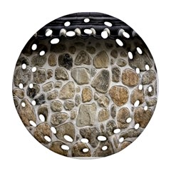 Roof Tile Damme Wall Stone Ornament (Round Filigree)