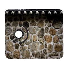 Roof Tile Damme Wall Stone Galaxy S3 (Flip/Folio)